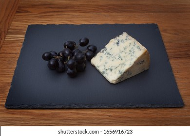 Stilton Blue Cheese with Sable Grapes
