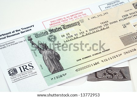 Stimulus economic tax return check