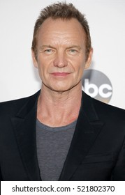 Sting at the 2016 American Music Awards held at the Microsoft Theater in Los Angeles, USA on November 20, 2016.