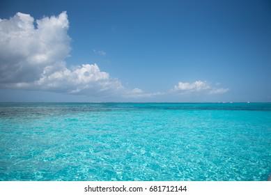 Stingray City Seven Mile Beach, Grand Cayman Islands Caribbean