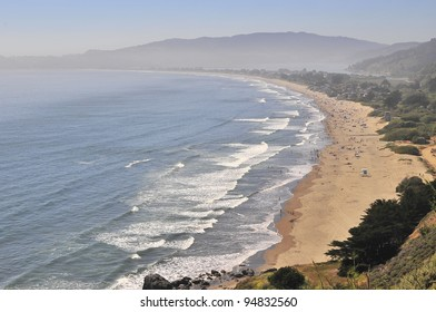 Stinson Beach is a beach in Marin County, California, on the west coast of the United States