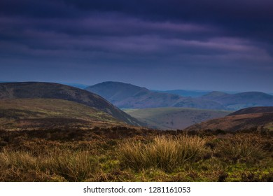 Stiperstones Shropshire Hills England Stock photo