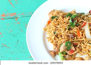Spicy Stir-fried Pork with Rice Images, Stock Photos