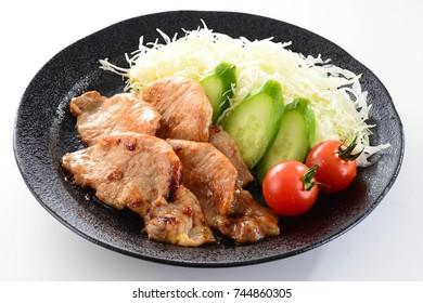 stir-fried pork with ginger