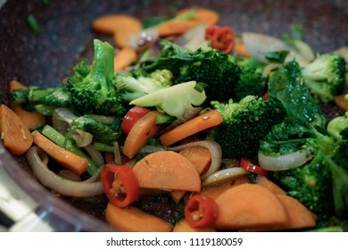 StirFry mixed veggie with brocolli and carrot