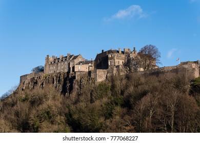 Stirling Castle in December