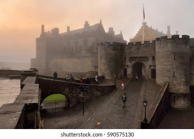 Stirling Castle, Scotland, 19th September 2013