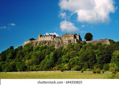 Stirling Castle, Scotland, Europe.