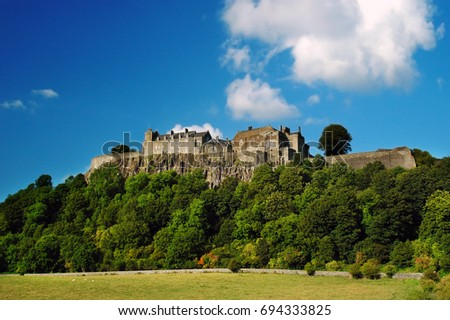 Stirling Castle Scotland Europe