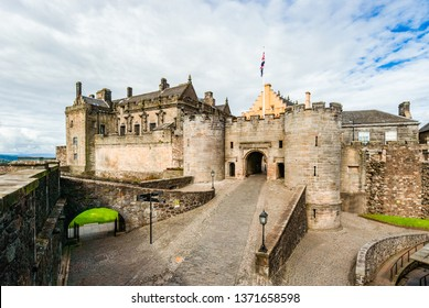 Stirling Castle - Stirling - Scotland. One of the biggest and important castles in Scotland.
