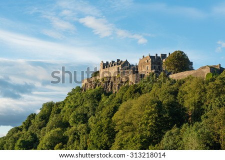 Stirling Castle from the