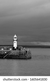 StIves Lighthouse on Harbour Wall