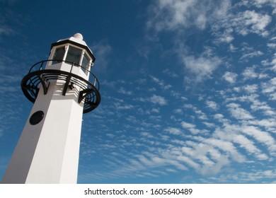 StIves Lighthouse on Sunny Day