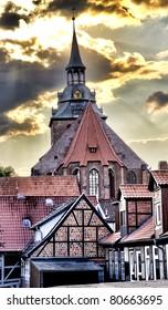 St.Michael church HDR image, Lueneburg near Hamburg, Germany