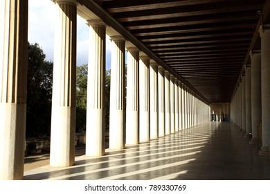 Stoa of Attalos in Athens, Greece