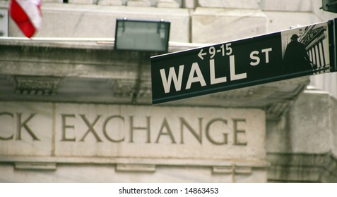 Stock Exchange in New YOrk, Wallstreet, USA