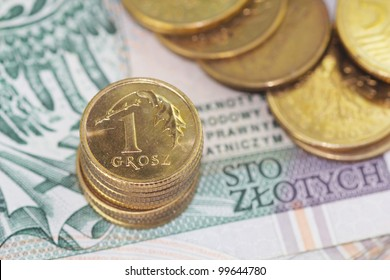 Stock gold coins
