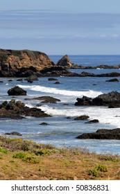 Stock image of California's Central Coast, Big Sur, USA