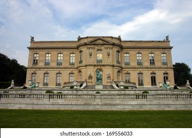 Stock image of Elms Mansion in Newport, Rhode Island