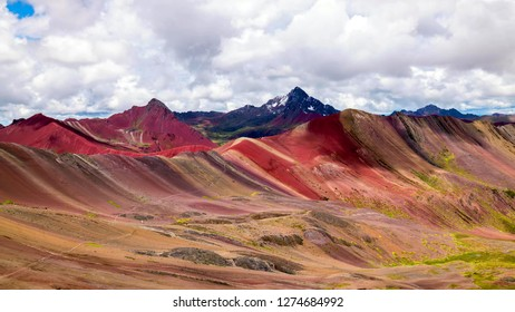 Stock image of the landscape of Peru.