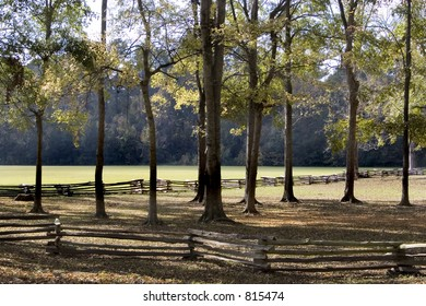 Stock image of Natchez Trace National Scenic Trail.