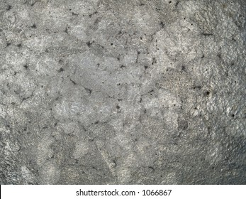 Stock macro photo of the texture of discolored metal.  Useful for layer masks and abstract backgrounds.