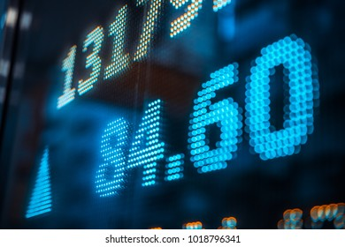Stock market background design