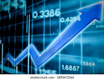 Stock market charts and figures, Aceh Indonesia