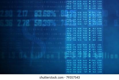 Stock Market Data Matrix