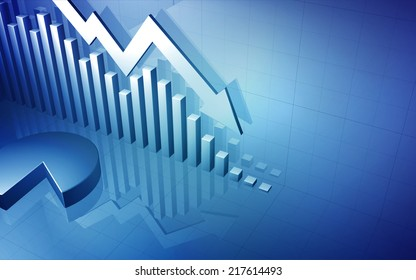 Stock Market Graph Arrow