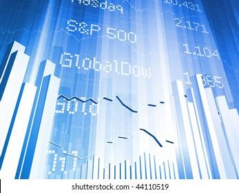 Stock Market Index Large
