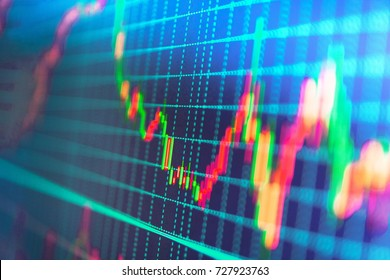 Stock market and other finance themes. Business analysis diagram. Finance background data graph. Finance concept. Share price candlestick chart. Price chart bars