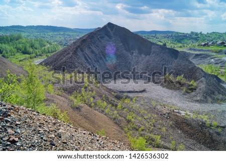 Горная шория, Темир-Тау, Темирский доломит, Кемеровская область, Кузбасс, террикон, отвал, рудник #1426536302