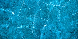 A background of cyan texture marble. Panoramic view