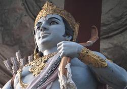 A beautiful statue of Lord Ram