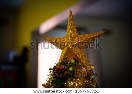 A christmas decoration.