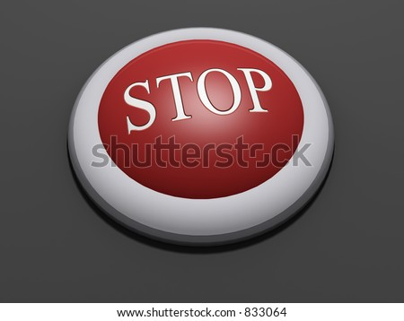#4 - a 3d rendered button with embossed text (could be replaced). Part of a series