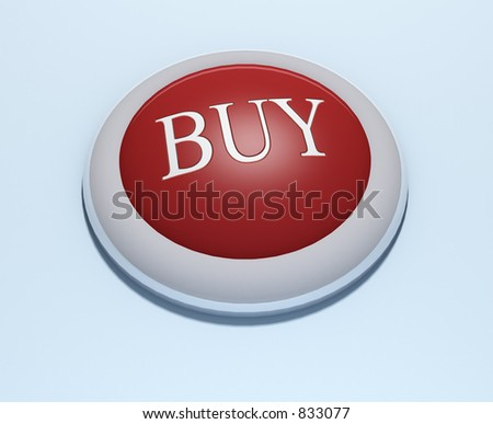 #1 -a 3d rendered button with embossed text (could be replaced). Part of a series