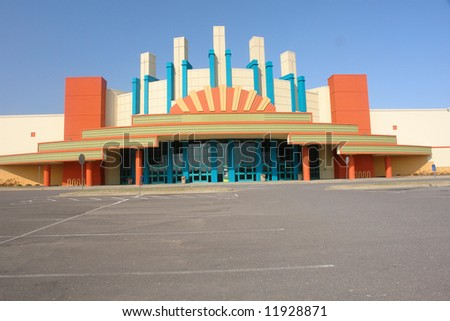 A picture of cinema with wonderful colors