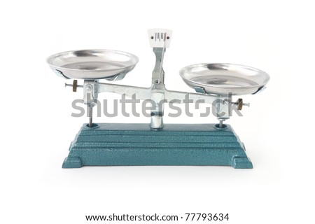 a weight scales isolated unbalance