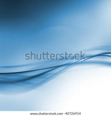 abstract artistic blue 3-d wallpaper