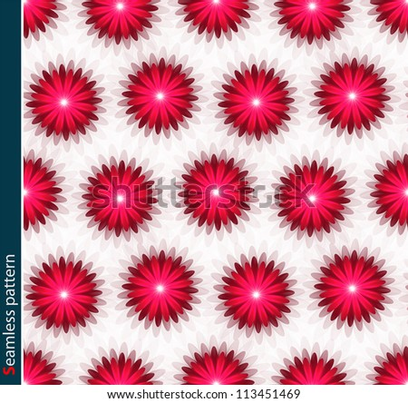 Abstract background. Floral seamless pattern.