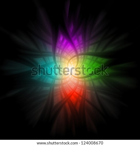 Abstract Multi Color Background CG