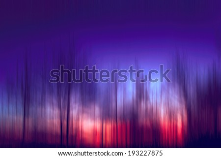 Abstract vivid purple enchanted forest, streak effect                                         #193227875