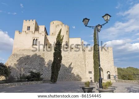 977 AC Castellet Castle near Foix dam at Barcelona, Spain