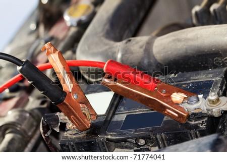 Accumulator   car  wire   plug