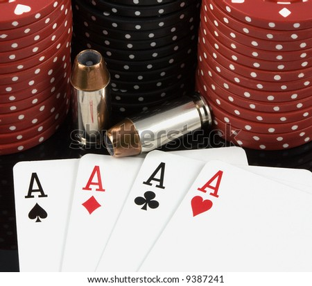 bullets pair of aces poker league