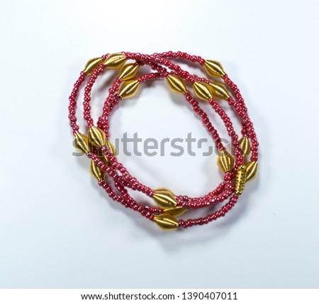 African Waist Beads, Waist Beads,   #1390407011