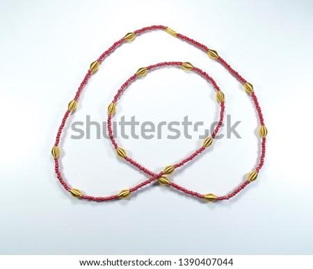 African Waist Beads, Waist Beads,   #1390407044