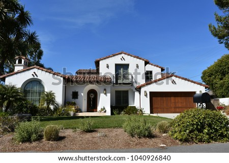 American Dream Houses and estates in the Palos Verdes, California.    #1040926840